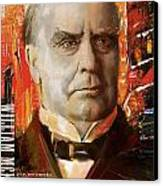 William Mckinley Canvas Print by Corporate Art Task Force