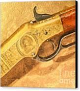 Winchester 1866 Yellow Boy Rifle Canvas Print by Odon Czintos