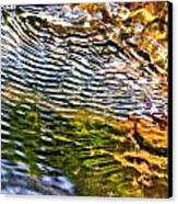 Wind Ripples Canvas Print by David Flitman