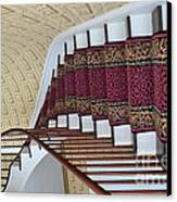 Winding Staircase Canvas Print by Kathleen Struckle