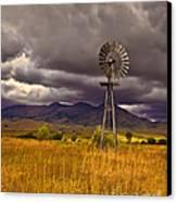 Windmill Canvas Print by Robert Bales