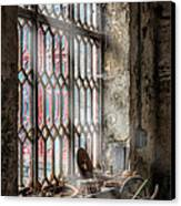 Window Decay Canvas Print by Adrian Evans