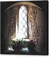 Window Solitude Canvas Print by Darren Baker