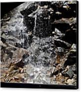 Window Waterfall Canvas Print by Dan Sproul