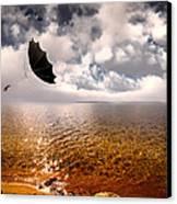 Windy Canvas Print by Bob Orsillo