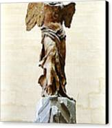 Winged Victory Of Samothrace Canvas Print by Conor OBrien