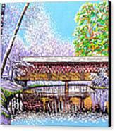 Winter Into Spring Canvas Print by David Linton