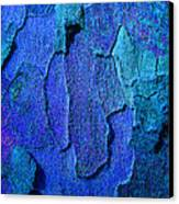 Winter London Plane Tree Abstract 4 Canvas Print by Margaret Saheed