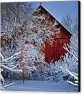 Winter Warmth  Canvas Print by Jeff Klingler