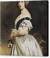 Winterhalter, Franz Xavier 1805-1873 Canvas Print by Everett