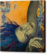 Within Temptation Canvas Print by Dorina  Costras