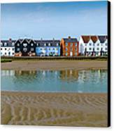 Wivenhoe Waterfront Canvas Print by Gary Eason