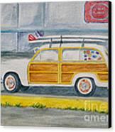 Woody Canvas Print by Regan J Smith