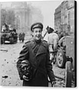 World War 2, Battle Of Berlin, April Canvas Print by Everett