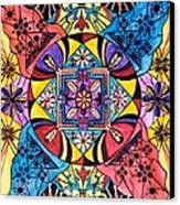 Worldly Abundance Canvas Print by Teal Eye  Print Store