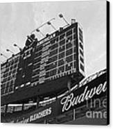 Wrigley Scoreboard Sans Color Canvas Print by David Bearden