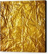 Wrinkled Paper Canvas Print by Carlos Caetano