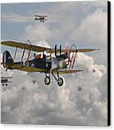 Ww1 Re8 Aircraft Canvas Print by Pat Speirs