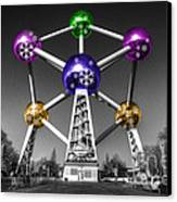 Xmas Atomium  Canvas Print by Rob Hawkins
