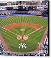 Yankee Stadium Canvas Print by Allen Beatty