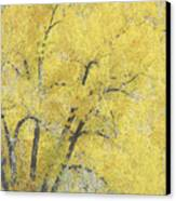 Yellow Trees Canvas Print by Ann Powell