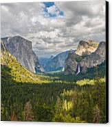 Yosemite Valley Canvas Print by Sarit Sotangkur