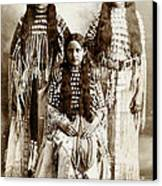 Young Kiowa Belles 1898 Canvas Print by Unknown