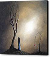 Your Memory Lives On In Me By Shawna Erback Canvas Print by Shawna Erback