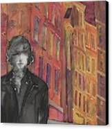 Z And The City 2 Canvas Print by Carolyn Doe