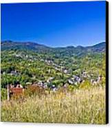Zagreb Hillside Green Zone Nature Canvas Print by Brch Photography