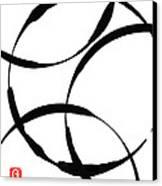 Zen Circles Canvas Print by Hakon Soreide