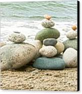 Zen Meditation Balance Canvas Print by Artist and Photographer Laura Wrede
