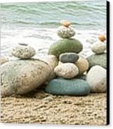 Zen Meditation Balance Canvas Print by Artist and Photographer Laura Wrede