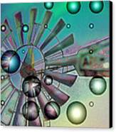 Zephyrus - Aloft Canvas Print by Wendy J St Christopher