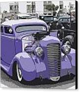 Hot Rod Purple Canvas Print by Steve McKinzie