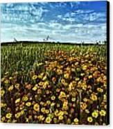 Spring Canvas Print by Stelios Kleanthous