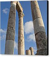 The Ruins Of The Ancient Citadel, Or Canvas Print by Taylor S. Kennedy