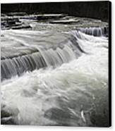 0804-0113 Six Finger Falls 2 Canvas Print by Randy Forrester