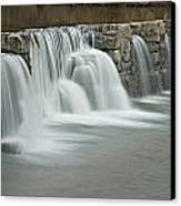 0902-7009 Natural Dam 2 Canvas Print by Randy Forrester