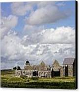 Abbeyknockmoy, Cistercian Abbey Of Canvas Print by The Irish Image Collection