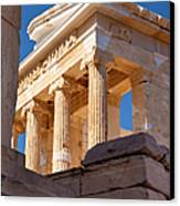 Acropolis Temple Canvas Print by Brian Jannsen