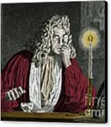 Anton Van Leeuwenhoek, Dutch Canvas Print by Science Source