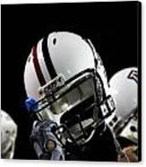 Arizona Football Helmets Canvas Print by University of Arizona