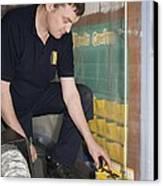 Asbestos Monitoring Canvas Print by Paul Rapson
