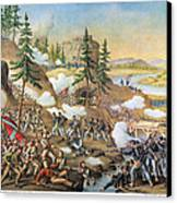 Battle Of Chattanooga 1863 Canvas Print by Granger