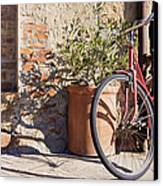 Bicycle Canvas Print by Jeremy Woodhouse