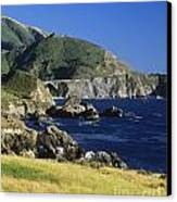 Big-sur-t1-3 Canvas Print by Craig Lovell