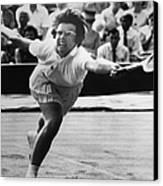 Billie Jean King (1943- ) Canvas Print by Granger