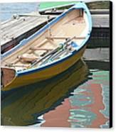 Boats Of Boston Harbor Canvas Print by Susan McNamara