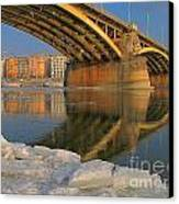 Bridge Canvas Print by Odon Czintos